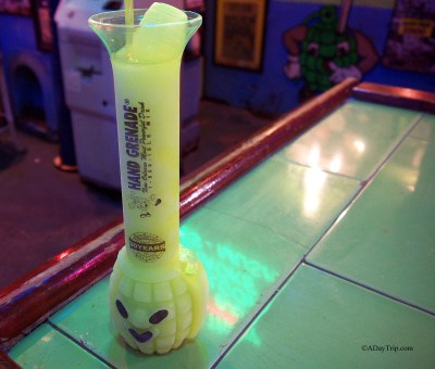 The famous Hand Grenade drink