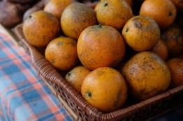ส้มขายแบบชั่งน้ำหนัก จะเอากี่ลูกก็ได้ (ตกลูกละราว 20 บาท) / Water Garden organic Farmers Market, ไทเป ไต้หวัน