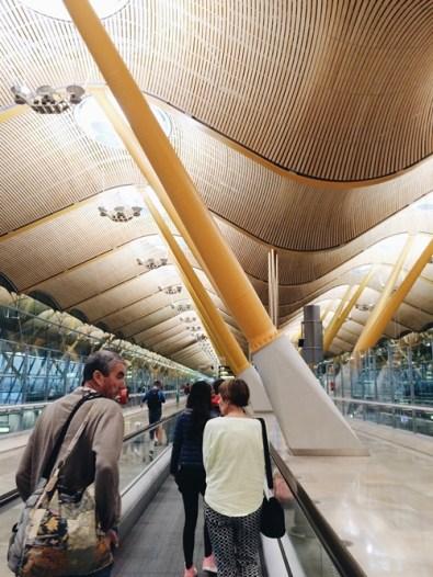 สนามบินมาดริด สเปน