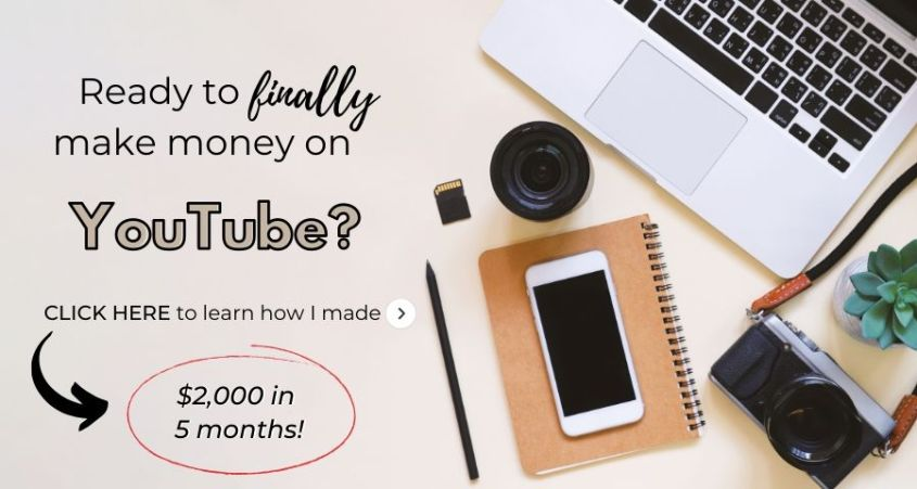 how I made $2,000 on youtube