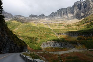 Going-to-the-Sun Road in Glacier National Park.