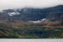 Cameron Lake in Waterton Lakes National Park.