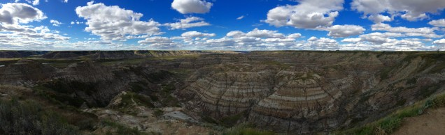 Horsethief Canyon in Drumheller.