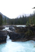 The natural bridge in Yoho National Park, BC.