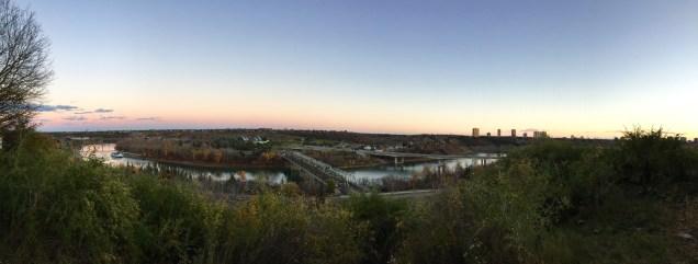 North Saskatchewan River, Edmonton
