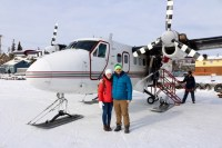 Us and our little ski plane