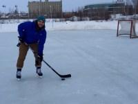 Hockey on Frame Lake