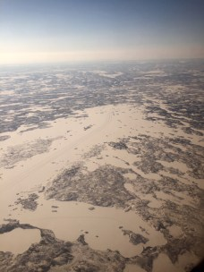 Aerial Views of Ice Road Networks