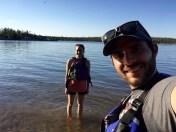 Kayaking on Long Lake After Work