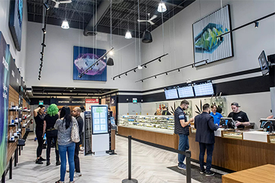 Nova Cannabis Retail Store Checkout