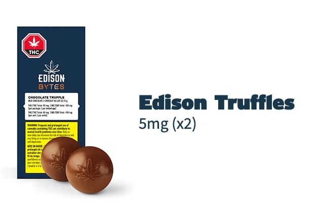 Edison Cannabis Truffles Packaging
