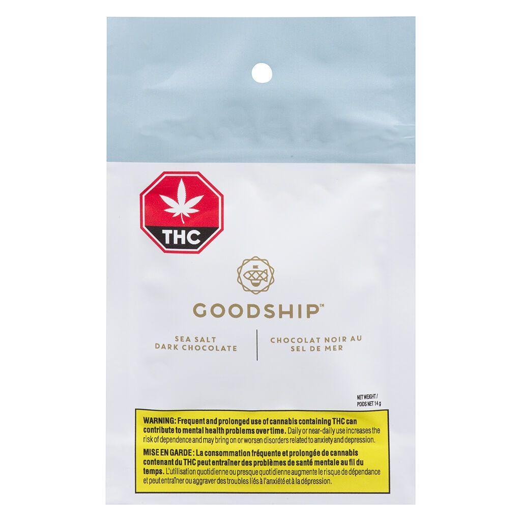 Goodship Cannabis Chocolate Packaging