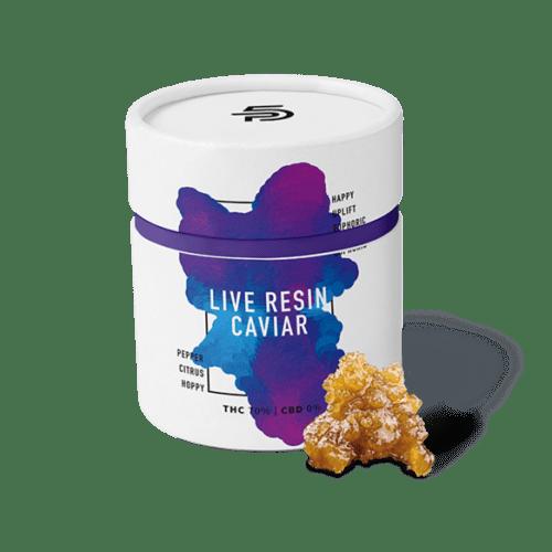 Premium 5 Cannabis Live Resin Caviar