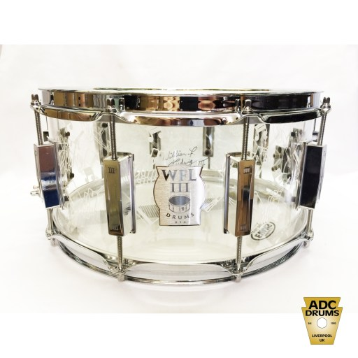 WFL III Collectors Series Top Hat & Cane Acrylic Snare Drum