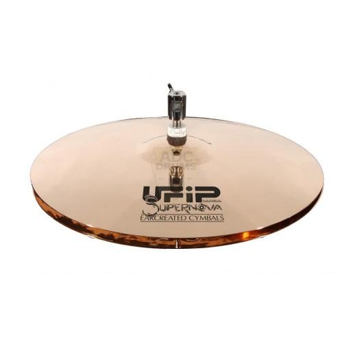 """UFIP Supernova 13"""" Hi-Hat Cymbals 1"""