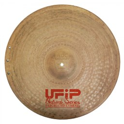 "UFIP Natural 22"" Sizzle Ride Cymbal 1"