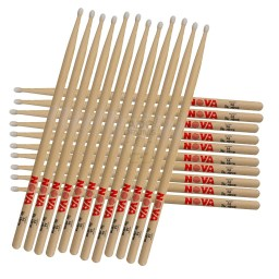 Brick of Vic Firth Nova nylon tip drumsticks