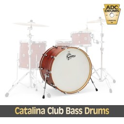 Gretsch Catalina Club Bass Drums 3