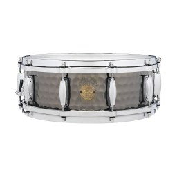 Gretsch Full Range Hammered Black Steel Snare Drum