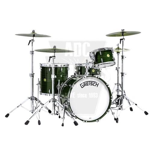 Gretsch_Broadkaster_Dark_emerald_Drum_Kit