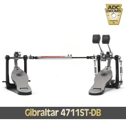 Gibraltar 4711ST-DB double Bass Drum pedal