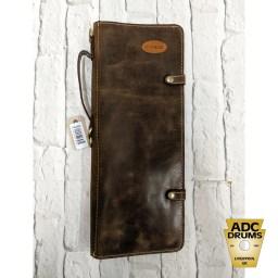 Ahead Armor Handmade Leather Brown Stick Bag