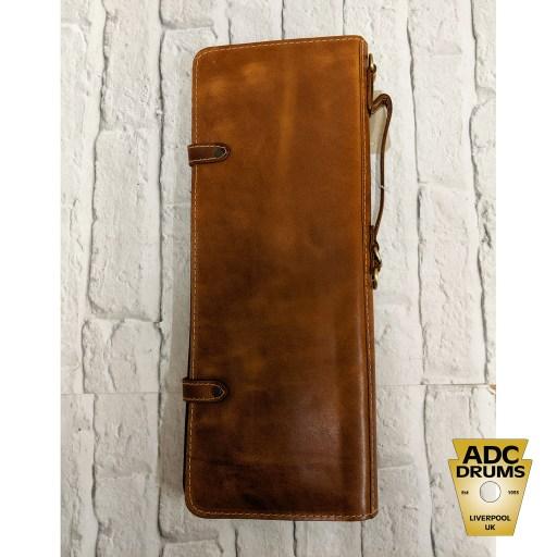 Ahead Armor Handmade Leather Tan Stick Bag
