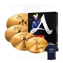 A Zildjian Cymbal Set A391