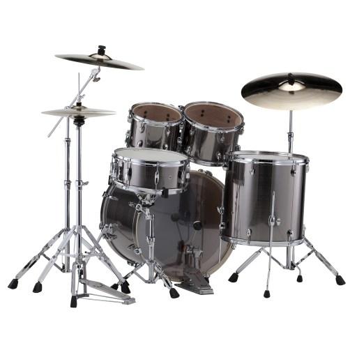 Pearl-Export-Drum-Kit-Rock-Smokey-Chrome-Rear