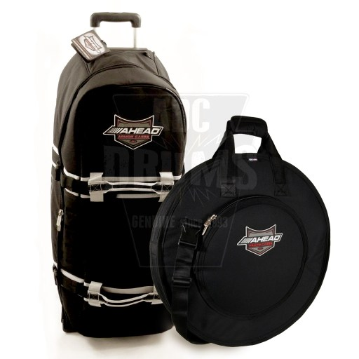 Ahead Armor hardware case & cymbal bag