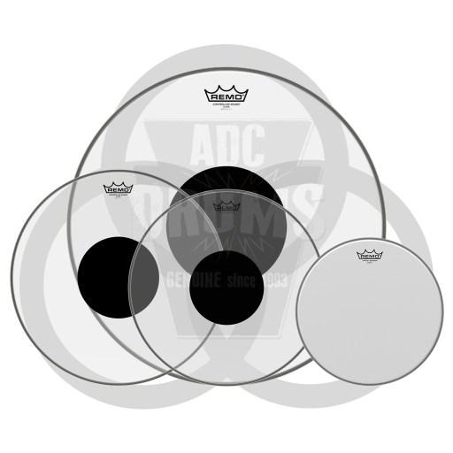 John Bonham Vistalite drum head pack