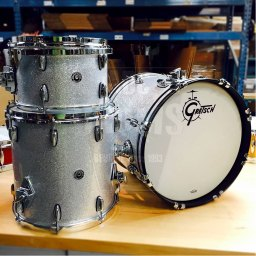 Gretsch-Brooklyn-Siver-Sparkle-shells