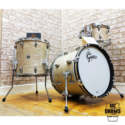 Gretsch Brooklyn 'Be-Bop' Creme Oyster Shell-Pack