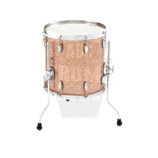 """Gretsch Renown Floor Tom: 16"""" x 16"""" in Copper Premium Sparkle"""