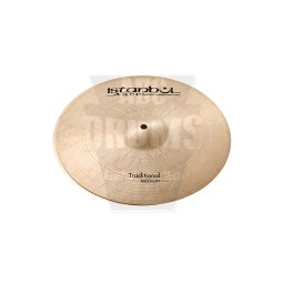 Istanbul Traditional 17-inch Medium Hi-Hats