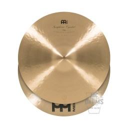 Meinl Symphonic 18-inch Thin Clash Cymbals#1