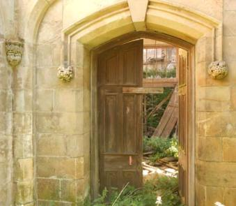 Entrance into Crawford Priory