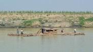 Boat on the Ayeyarwady River