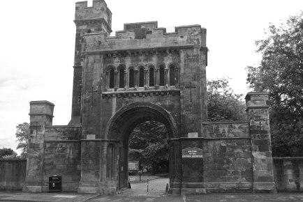 Main entrance, Southern Necropolis, Glasgow