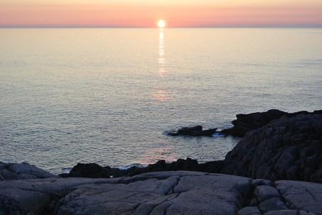 Sunset near Sandwood Bay