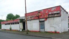 Highland Fling: Abandoned pub in Glasgow