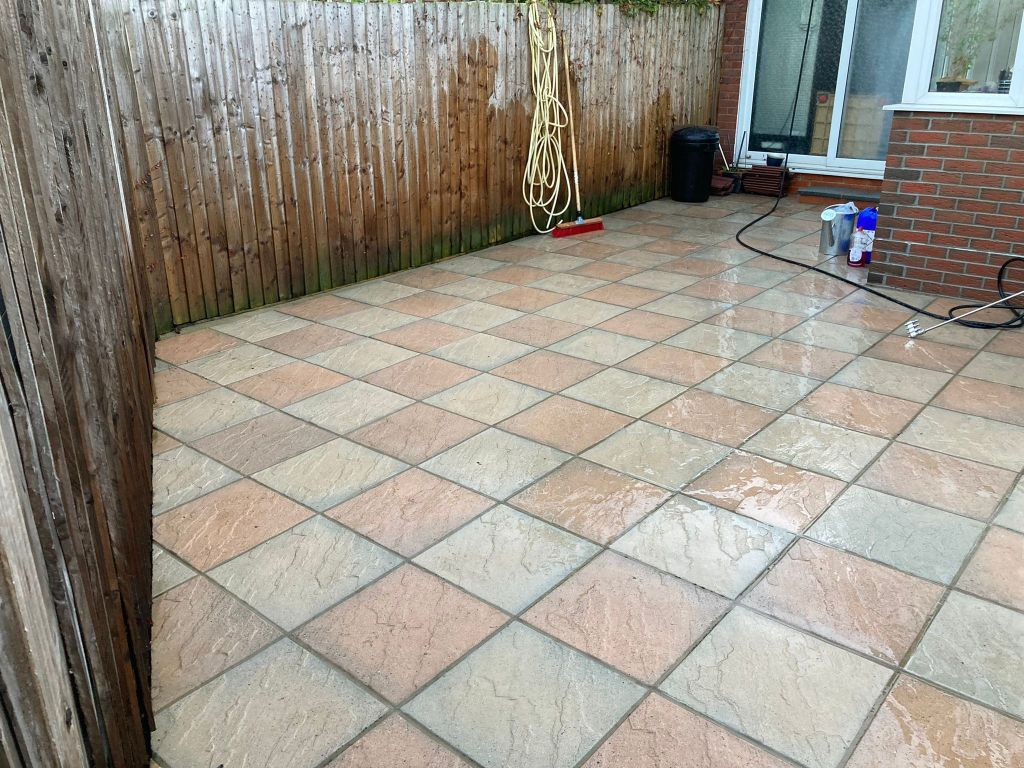 Patio cleaning london