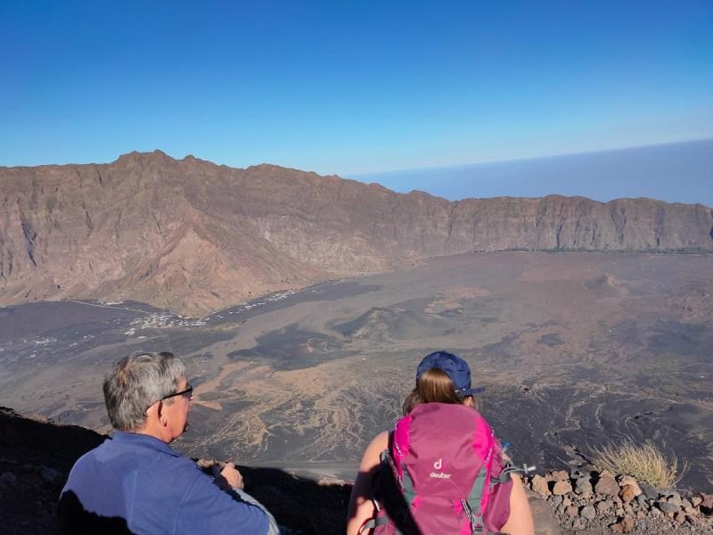 De beklimming van Pico Do Fogo