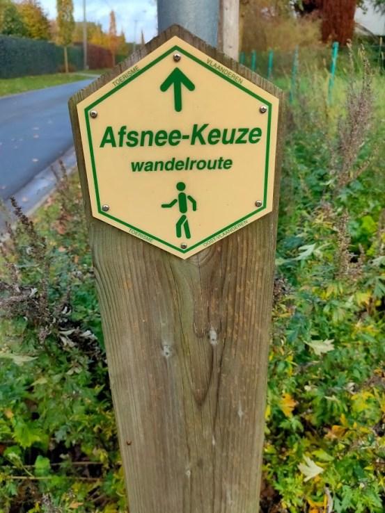 Afsnee-Keuze wandelroute