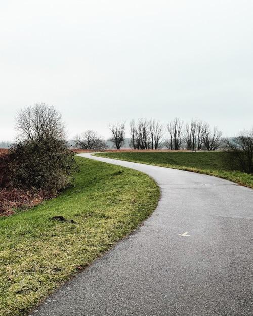 Schelde dijk, Steendorp wandelroute