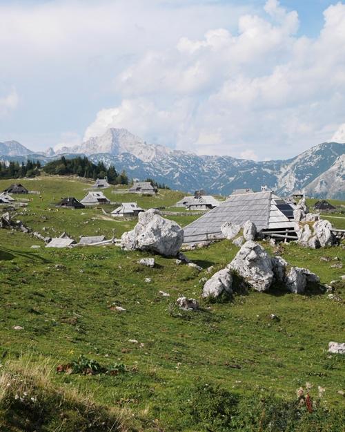 Velika Planina wandelroute