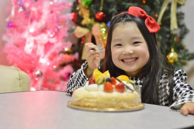 クリスマスケーキを2歳の子にあげていい?手作りは?市販品の選び方は?
