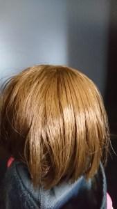 レミンちゃん 髪の毛 後ろ