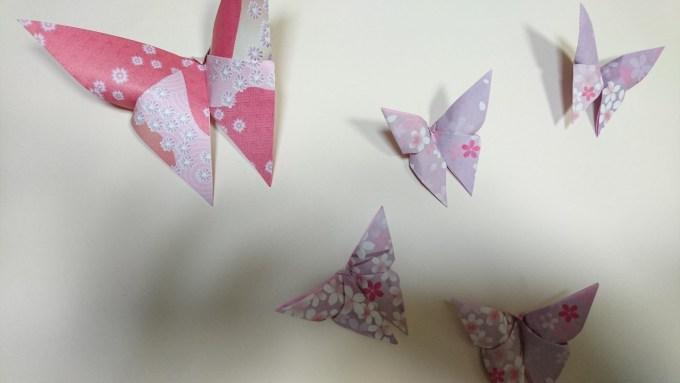 折り紙ちょうちょ立体の折り方♪簡単に子どもが作れ箸置きにもなる作り方は?