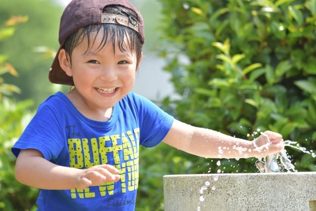 噴水がある公園での水遊びを滋賀県で!子供や幼児向けおすすめ4選!